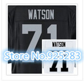 New! Cheap Stitched Custom American Football Jersey #71 Menelik Watson Jersey Men's Football Jersey.Free Shipping