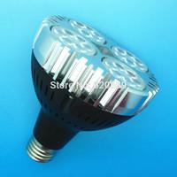 PAR30 Spotlight / Track Light, 30W, RA>94, PF>0.95, High Lumen, Fan Heatsink, OSRAM Chipset, 20pcs/lot