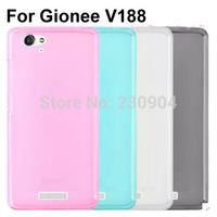 Soft transparent TPU Phone Case Cover For Gionee V188