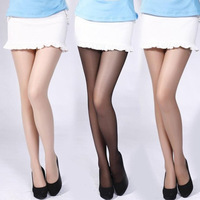 1Pcs Soft Nylon Spandex Transparent Tights Pantyhose Color Stockings for Sexy Women Lady