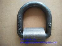 forged D ring trailer deck ring cargo lashing ring tie down ring trailer parts,trailer welded D ring,trailer rope ring