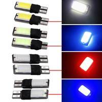 2SMD T10 168 194 2825 W5W COB LED Bulbs Lamp For Auto Car Parking Light 2PCS