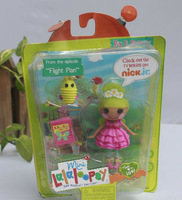 IN HAND! !with box MGA STYLES LALALOOPSY GRIRLS DOLLS NIP ~Pix.E Flutter~~ mini button eyes Figures FREE SHIP