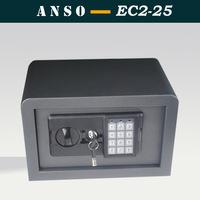 2014 new design fillet safe box Economical small home safes Black/ White/ Grey/ Beige