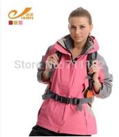 new women winter autumn jackets outdoor sports coats lady waterproof windbreaker hoodie warm camping hiking skiing free shipping