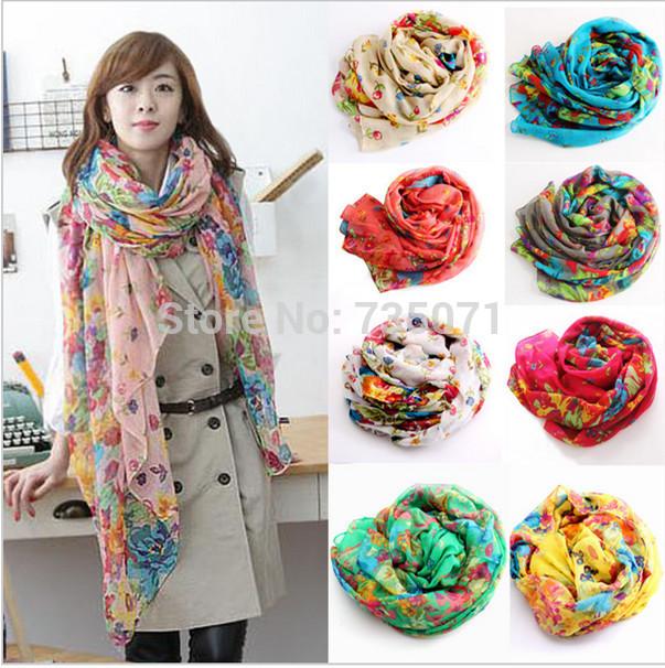 Женский шарф Brand desigual 15 echarpe W1750