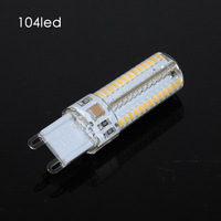 free shipping 3014 104leds 5w 500lm led lamp 220v 100pcs one lot wholesale with CE&RoHS certificated