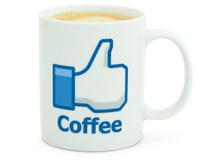 Free Shipping 1Piece Social Like Coffee Mug Thumb Ceramic Mug Water Cup Color Change Mug