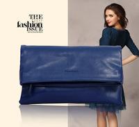 Women fashion pu leather clutches bags messenger bag bolsos de cuero de marca 2014 handbags brand messeger-bag Y0711