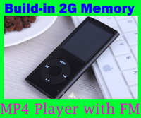 Wholesale - -1.8 inch TFT LCD screen portable mp3 / mp4 player,Build-in 2GB Memory,Built-in FM Radio