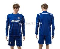 High  Quality  Chelsea  2015 Home   Long sleeve  Soccer Jerseys      Football  Kit