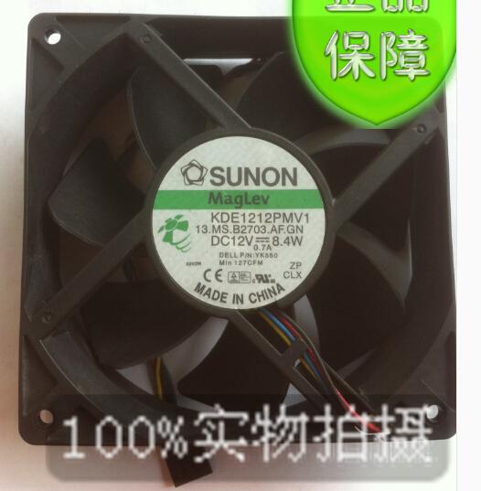 SUNON KDE1212PMV1 12CM 120*120*38 12V 8.4W super mute cabinet server fan(China (Mainland))
