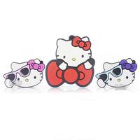 Best gift cartoon KT Cats Shape Pen Drive 8GB 16GB 32GB usb flash drive USB 2.0 Memory stick usb flash penDrive thumb/drive/pen