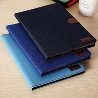 Denim 9.7'' tablet Shell skin /Protective Case Cover for Apple Ipad 5 Ipad Air tablet PC free shipping