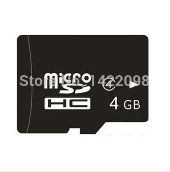 High Quality 100% Real Capacity 4GB Micro Sd Card Class 10 4GB TF Memory Card Free Adapter -gift Card Reader -Free Shipping(China