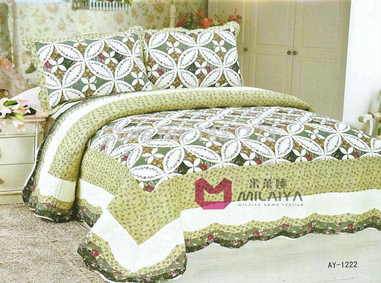 [ ay1222 ] ar condicionado quilt 3Pcs cama conjuntos de luxo incluem capa de edredon lençol fronha Reactive Imprimir Frete grátis(China (Mainland))