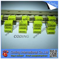 100pcs/lot yellow color Capacitor 124J 120nF 100V  124J/100V P=5mm Correction Capacitor