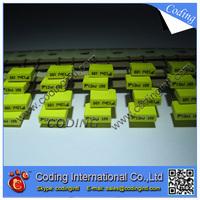 100pcs/lot yellow color Capacitor 123J 12nF 100V  123J/100V P=5mm Correction Capacitor