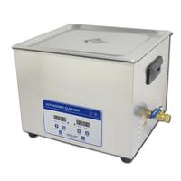 Hot sale JP-060S 15L optical parts ultrasonic bath 40KHz