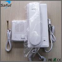 Free shipping Non-visible Wired Doorbell Doorphone Intercom home Security System Villa  Audio Door phone