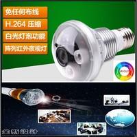 H.264 Bulb cctv camera 720P WiFi camera