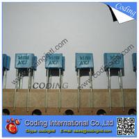100pcs/lot bule color Capacitor 152J 1.5nF 100V  152J/100V P=5mm Correction Capacitor