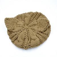 Unisex Fashion Cat  Ear Knitting Beanie hat HTZZM-087