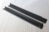 Mopar JK 2 Door Outside Black Plastic Door Entry Sill Guards OEM For Jeep Wrangler 2007 2008 2009 2010 2012 2013 2014