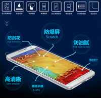 Tempered Glass Proof Membrane Explosion Screen Protector Guard Film For Samsung Galaxy Note 3 Neo / Lite N7505 N7508 N7506V