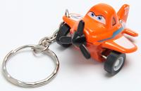 Alloy aircraft general mobilization metal key rings Cute cartoon key chain pendant accessories