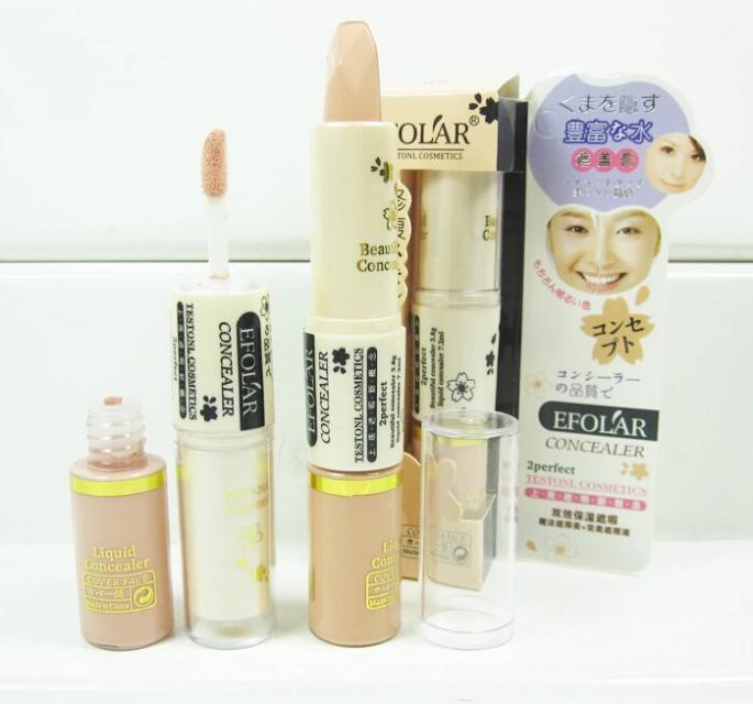 New 2014 Foundation Hide Blemish Dark Circle Cream Concealer Stick Liquid Lipgloss(China (Mainland))