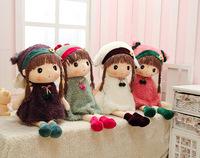New arrival original lovely cloths dolls toys plush toys four colour to choose
