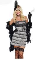 4 Pcs Vixen Womens International Costume LC8850