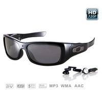 New 5MP CMOS 8GB Video recording MP3 glasses sunglasses camera free shipping