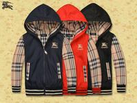 Free  Shipping  2014  New  Retail  Brand  fashion  spring/autumn  children's  coat  zipper  long  sleeve  boy's  jacket