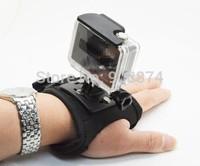 Hand Palm Glove Mount Wrist Strap holder for Gopro HD Hero 2 3 3+ and SJ4000 Suptig Camera