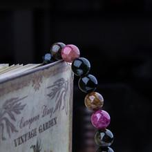 Need Brazil natural tourmaline crystal beads bracelet bracelets opening 10mm genuine original stone Vanves Wang marriage
