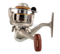 Wholesale QunHai SG1000A 6BB High Power Gear Spinning Spool Aluminum Fishing Reel (FR030) Metal Spinning Reels free shipping