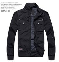 2014 Hot Sale Autum Casual Man Jacket Slim Thin Men Coat Outwear PFree Shipping 28