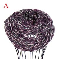 Winter 2014 women winter yarn knitted scarfs loop infinity scarf ,nl-2208