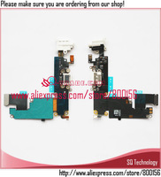 Headphone Audio Jack with Dock Charger Connector Flex Cable for iPhone 6+ 6 Plus free shipping