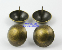 20 Pieces 30x25mm Antique Brass Big Upholstery Tacks Nails