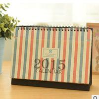 New 2015 fashion creative coil desktop calendar 2015 calendar   17886   0.15kg