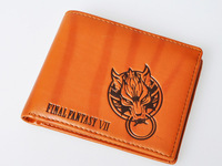 Final Fantasy VII Cloud Strife Brown Cosplay Wallet
