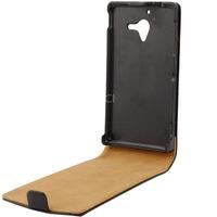 Soft Leather Case for Sony Xperia ZL L35H Vertical Flip Convenient Durable