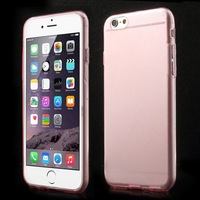 For iPhone 6 TPU Case ,Super Slim 0.5mm Soft TPU Gel Case With Dustproof Plugs for iPhone 6 4.7 inch