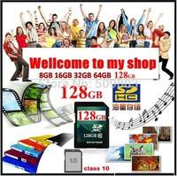 New 2GB-128G Transflash SD CARD SDHC Memory Card flash sd card +Free Shipping