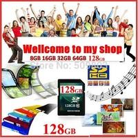 Memory Card class 10 SD Card 2GB -128GB SDHC Memory Cards,Retail box+Free Shipping