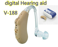 Ear Hearing Aid V-188 CE Approved sound amplifier voice amplifier digital BTE Hearing aid Low power consumption free shipping