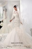 Garden 2014 Ivory Sheer Lace Long Sleeve Wedding Dresses Gowns High Collar Vestido de noiva